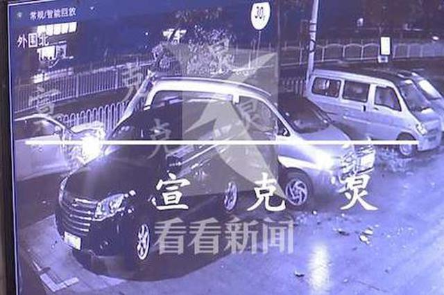 男子醉驾追尾冲破护栏撞树撞车 让堂弟顶包被识破