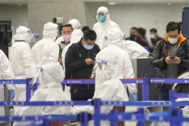 上海空港口岸打造分流通关大流程 入境到转运全程闭环