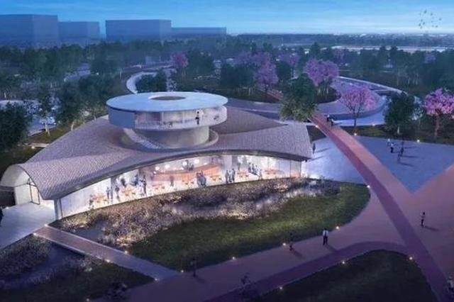 临港新片区星空之境海绵公园建设中 预计年底完成工作