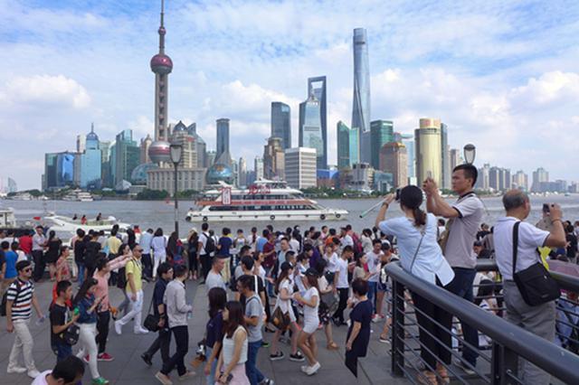 上海长假接待游客528万人次 旅游市场回暖势头强劲