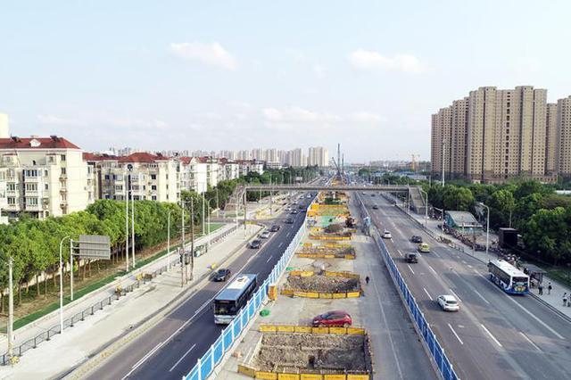 济阳路改建关键节点施工 将影响卢浦大桥中环外环出行