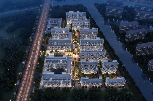 浦东中部最大规模租赁房项目开工建设