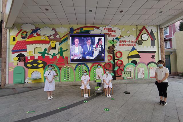 上海中小幼学生告别最长寒假全员复学