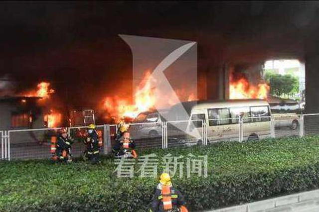 衡山汽车租赁公司停车场内员工休息室着火 引燃1辆小客车