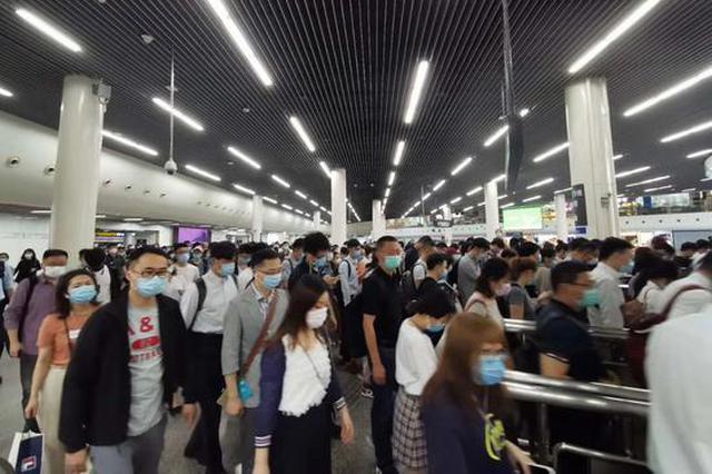 上海地铁日客流重回千万 5个月来带动平凡生活回归