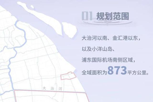 临港新片区国土空间总体规划草案今起公示