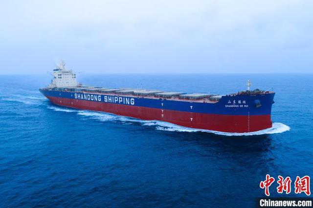 上海外高桥造船交付18万吨好望角型散货船