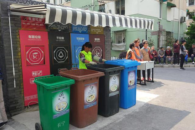 上海垃圾分类一年成绩单:居民区达标率超九成
