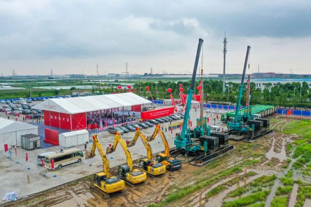 临港新片区18个重点产业项目开工建设 总投资约480亿元