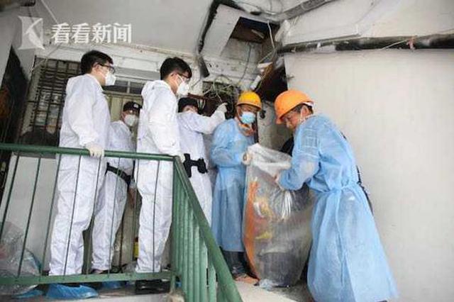 有味道的垃圾执行案终于执结 清运1000余袋整整九卡车