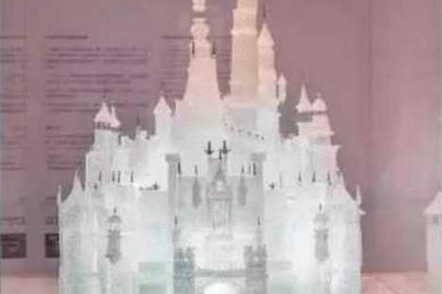 熊孩子闯祸 上海玻璃博物馆估价45万的梦幻城堡被损坏