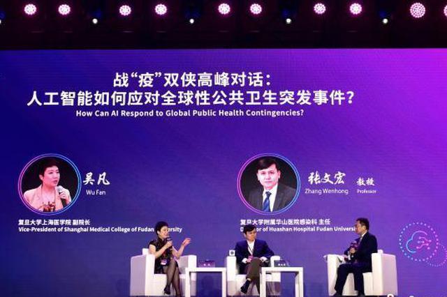 吴凡和张文宏就AI如何应对公共卫生突发事件展开对话