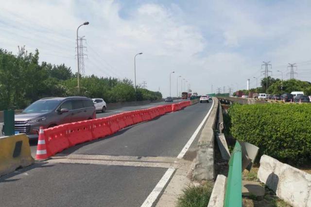 外环沪宁沪杭铁路立交桥启动大修 预计工期2个月