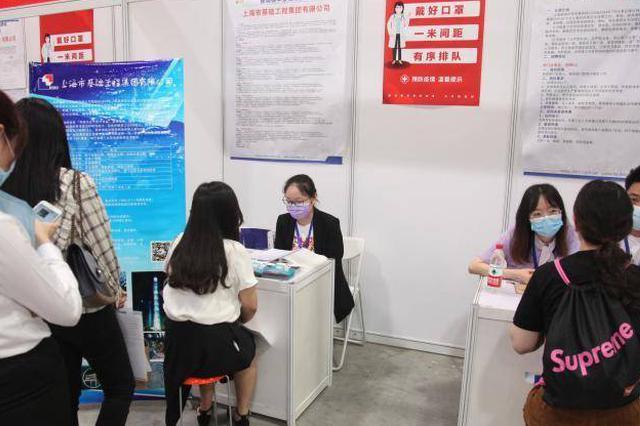 沪举办今年最大规模线下招聘会 9成岗位面向本科及应届生