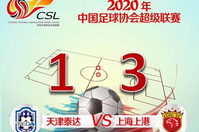 开门红 上港联赛首战3:1逆转战胜天津泰达