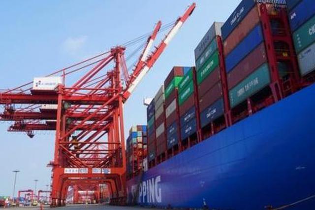 上海港集装箱吞吐量创新高 7月首破390万标准箱大关
