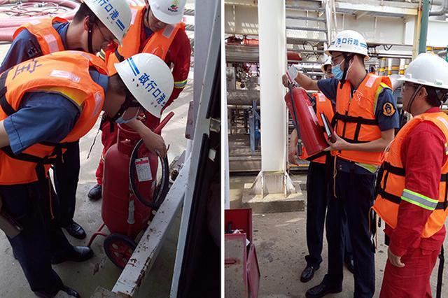 上海对21个危险货物港口地毯式全覆盖检查 持续至8月底