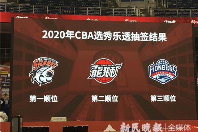 上海男篮获得2020CBA选秀状元签