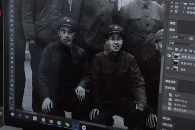 上海设计师修复100年前照片 为老人追忆似水年华