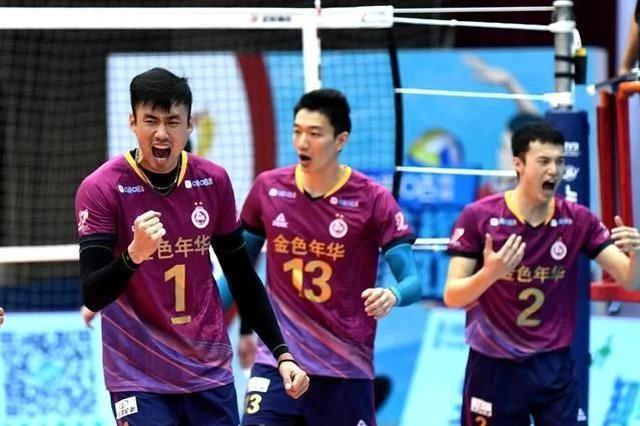 男排联赛总决赛上海占得先机 首回合3:1战胜江苏