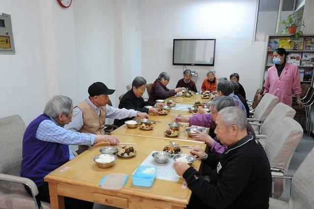 浦东高桥镇扩大助餐服务范围 农村老人不出村宅享服务