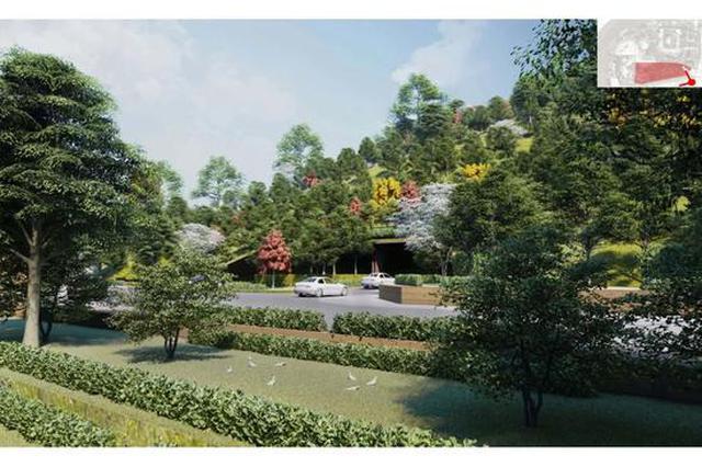世博文化公园将建一座48米高的山 形成多彩游览线路