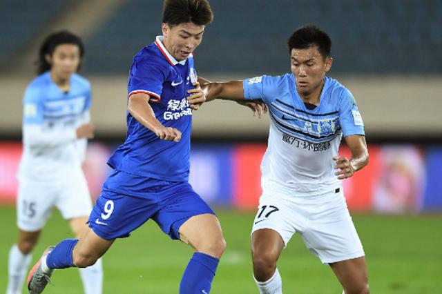 杨旭打进赛季首球 上海申花的卫冕征程却未能走下去