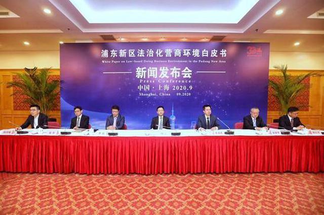 浦东首发法治化营商环境白皮书:助力中国这项排名飞跃