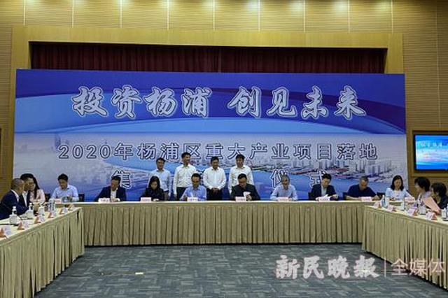 14个重大产业项目落地杨浦区集中签约 总投资额达一百亿