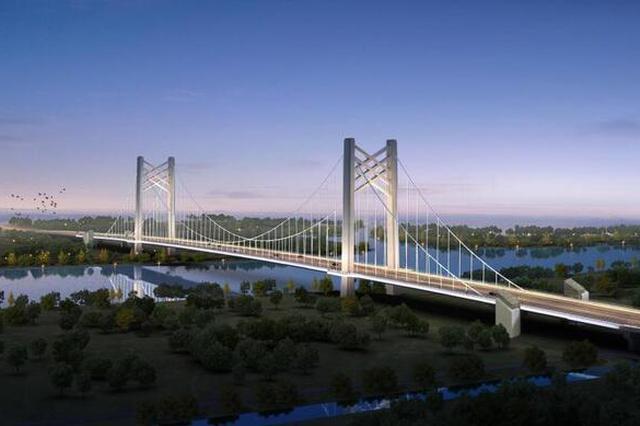 第14座黄浦江越江大桥正式开工 首次采用悬索桥桥型