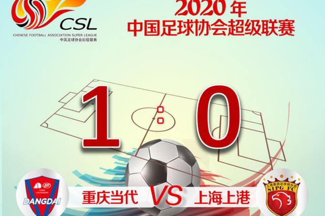上海上港0:1不敌重庆当代 争冠组比赛下月打响