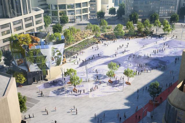 世纪广场即将改造更新 塑造成新品首秀点及网红打卡地