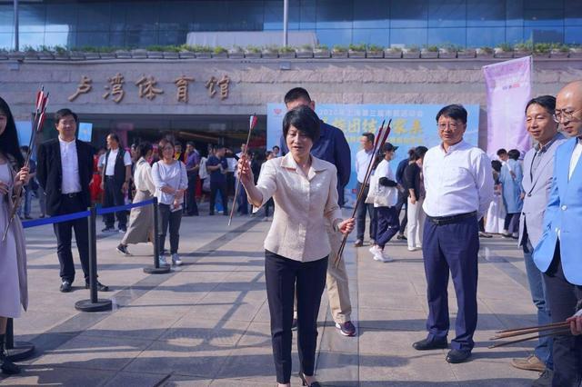 上海少数民族运动项目大赛开幕
