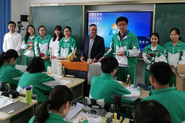 上海市市北中学国学校本课受追捧 于江河中感文化之美