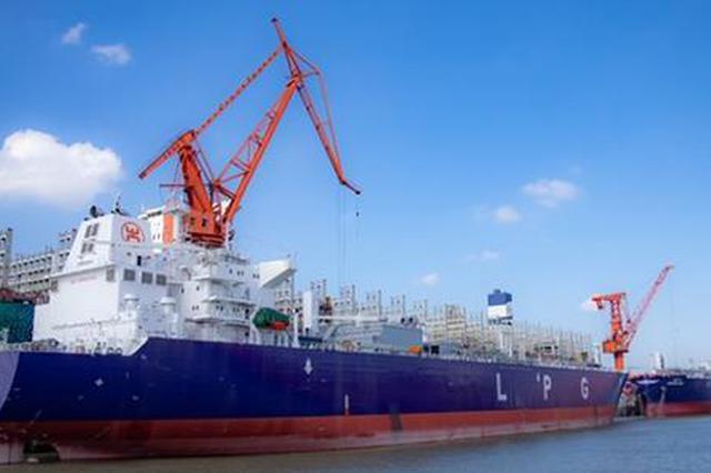 江南造船两船命名 交付年内第七艘系列船