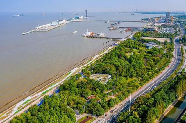 吴淞滨江岸线正式贯通开放 超2000亩滨江景观全面呈现