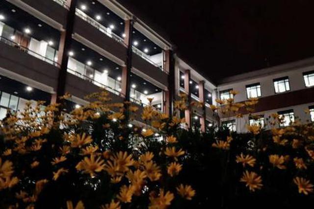 沪上38所院校夜景图来袭 夜晚的校园如此美丽