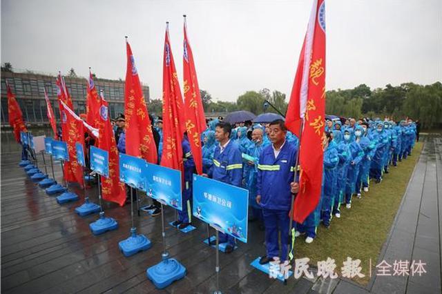 上海市容环境提升项目完工率超过九成 本月底全部完成