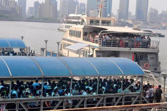 上海一日游暗访:中途购物 游览黄浦江变成坐2元钱渡轮