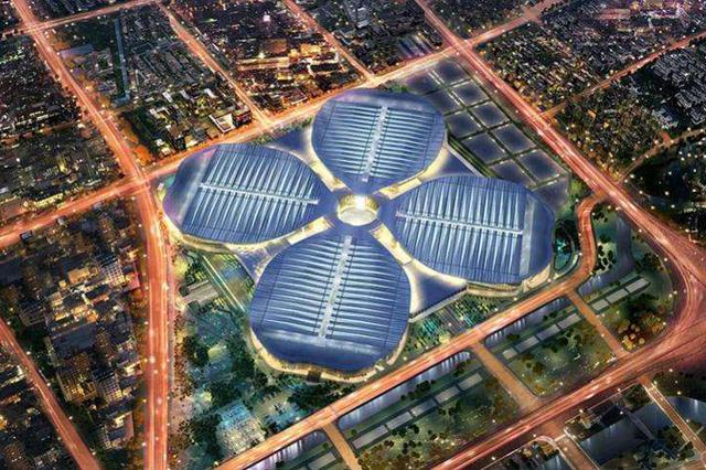 上海机场全力进博会保障工作 接待服务中心于28日启用