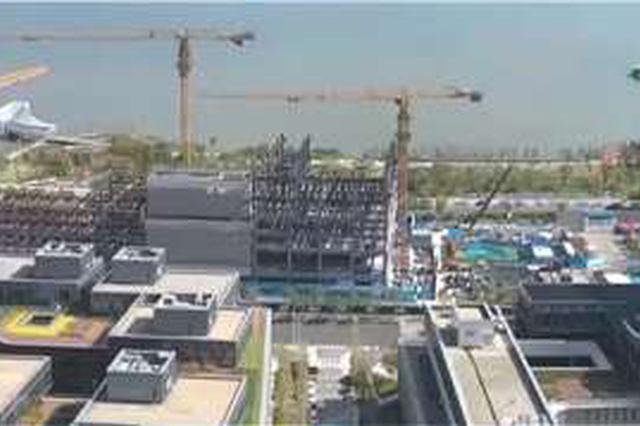 上海临港打造最美临湖图书馆 文化新地标即将结构封顶