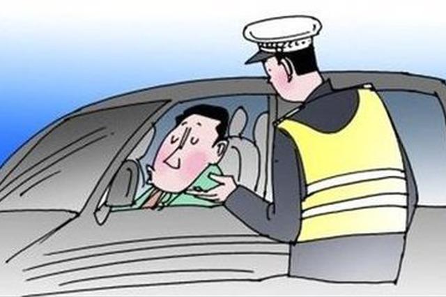 出租车司机酒驾撞上路边防护栏 被警方依法刑事拘留