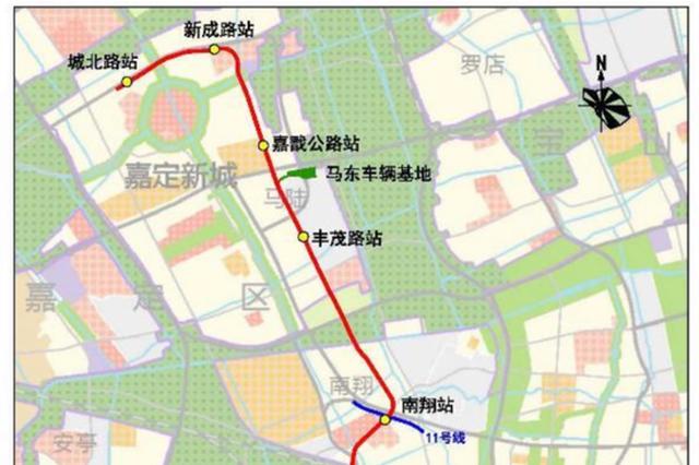 嘉闵线(城北路站-银都路站)选线规划草案公示设站15座