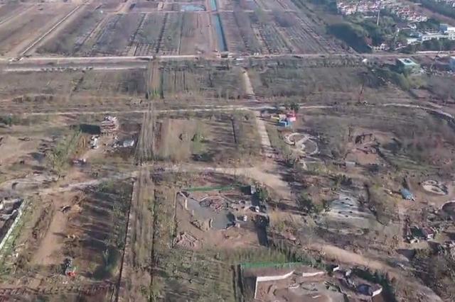 最新航拍 4分43秒带你俯瞰花博园区建设进展