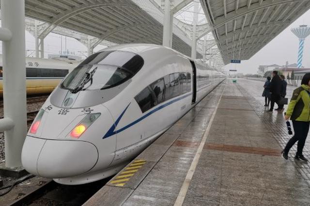 盐通高铁试运行 年内开通后上海市民可以做高铁直达盐城