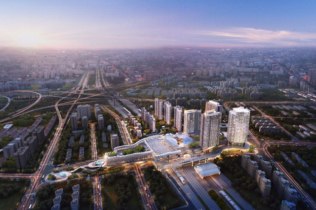 莘庄地铁站焕新倒计时 70万㎡的城市综合体将拔地而起