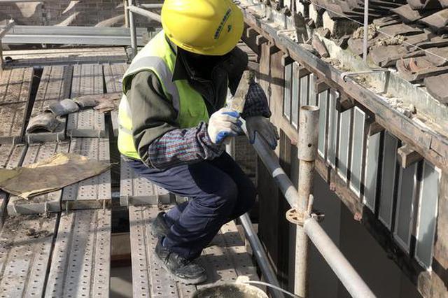 中共一大会址等建筑修缮保护工程完成65% 三月底竣工