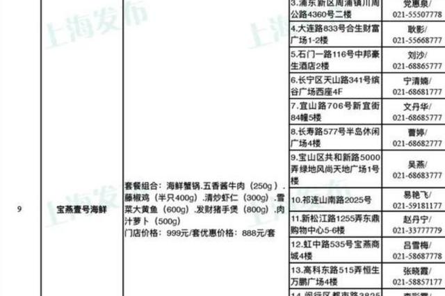 沪43家餐饮企业推出年夜饭外卖套餐 方便市民在家吃年夜饭