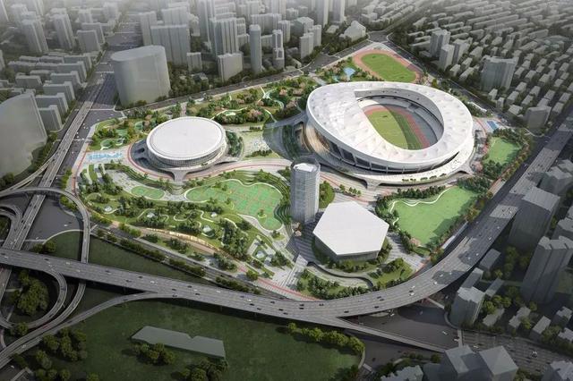上海建設全球著名體育城市重要承載區