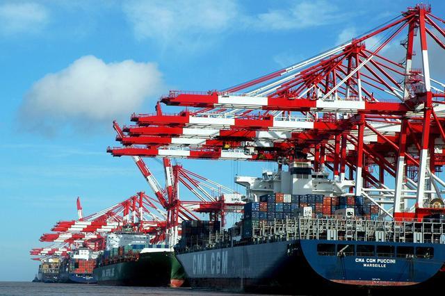 洋山港1月集裝箱吞吐量突破歷史紀錄 同比增長17.8%